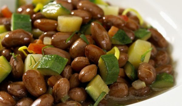 Brown Bean Salad