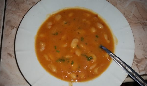 Bean Soup with a Roux