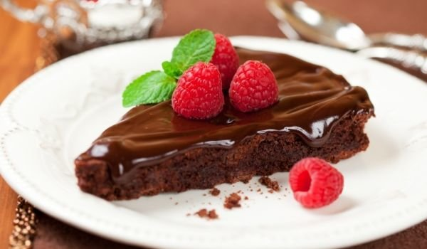 Chocolate Cake with Dark Beer