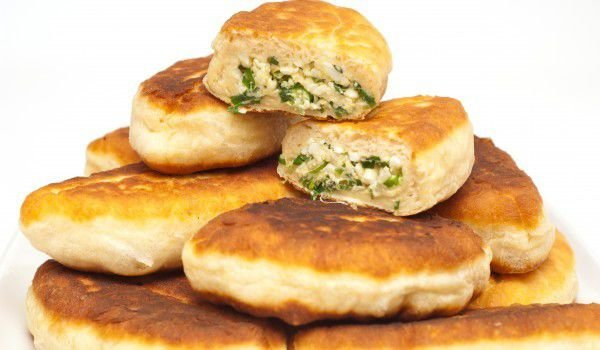 Pirozhki with Salty Stuffing