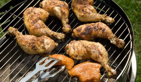 Grilled Aromatic Chicken Legs