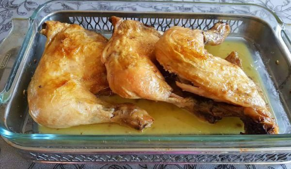 Roasted Chicken Drumsticks with Beer