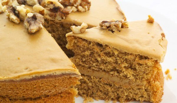Walnut Cake Layer