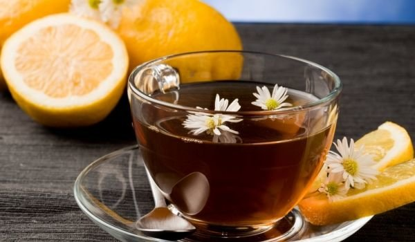 Black Tea with Orange
