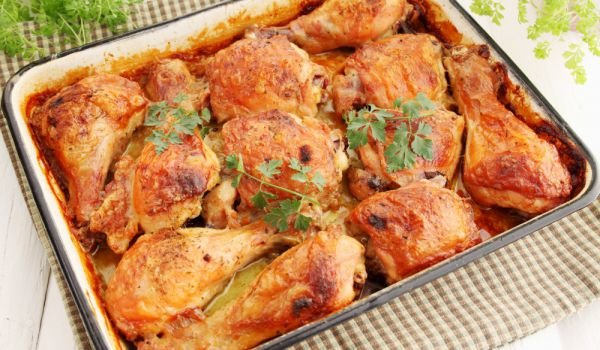 Moroccan-Style Roasted Chicken