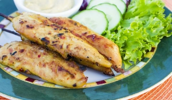 Grilled Aromatic Chicken Fillets
