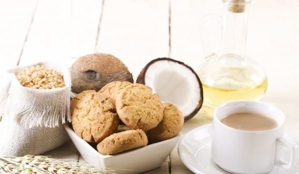 Coconut Cookies with Oats