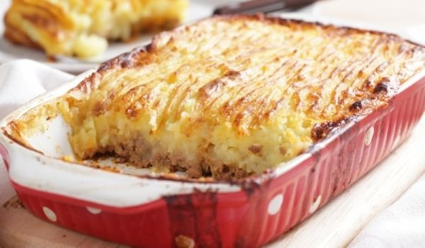 Potato Bake with Minced Meat