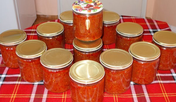 Pepper and Tomato Chutney