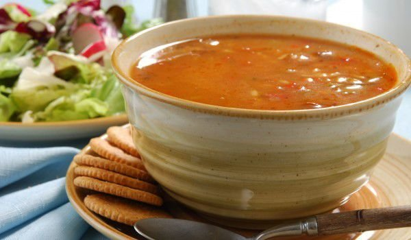 Cold Vegetarian Tomato Soup