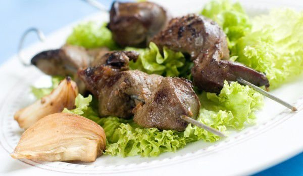 Grilled Livers