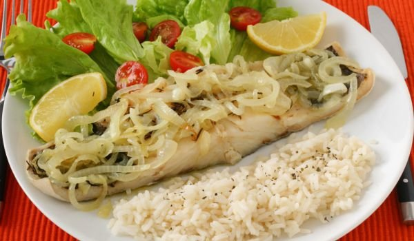 French-Style Fish Fillets with Onions