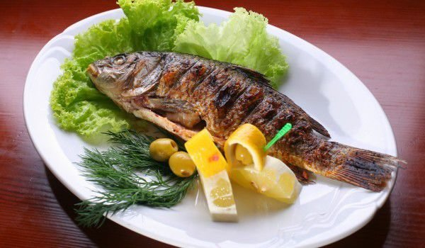 Baked Fish with Soya Sauce