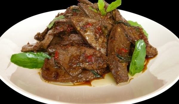 Fried Pork Liver