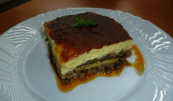 Greek Moussaka without Frying