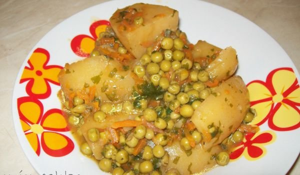 Peas with Potatoes