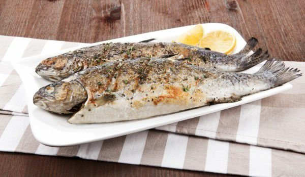 Aromatic Trout in the Oven