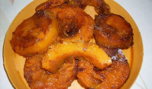 Baked Caramelized Pumpkin