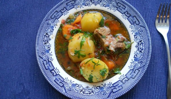 Potato Stew with Silverside Beef