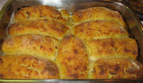 Tasty Potato Rolls with Mince