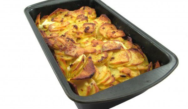 Baked Potatoes with Onions