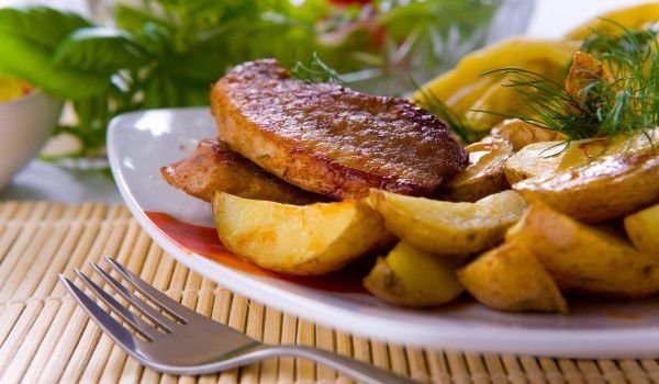 Pork Chops with Potatoes