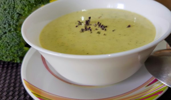 Keto Broccoli Cream Soup