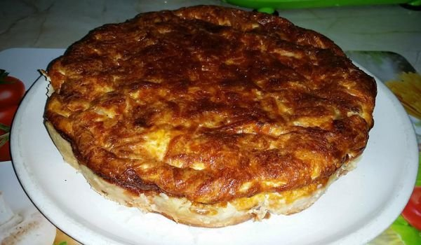 Bacon, Spinach and Cheddar Quiche