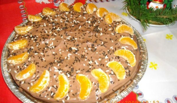 Easy Cake with Mandarins