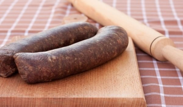 spiced sausages