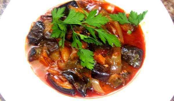 Super Tasty Summer Dish with Eggplants