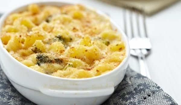 Baked Macaroni with Chicken