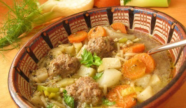 Stew with Meatballs and Potatoes