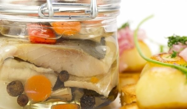 Marinated Bonito With Vegetables