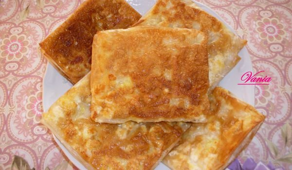 Buttery Gozleme with Feta Cheese