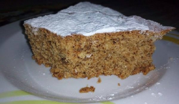 Honey Cake with Walnuts and Coffee