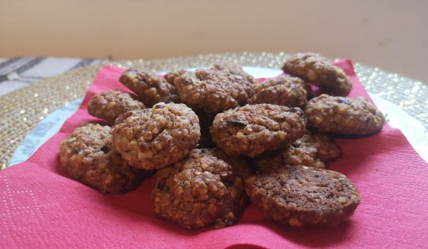 Soft Biscuits with Oatmeal