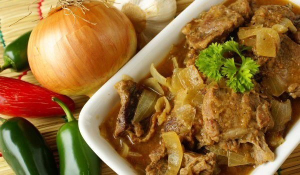 Duck Wing Tips with Onions