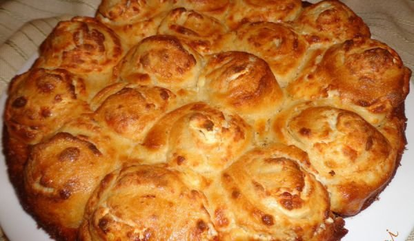 Butter Buns with a Topping