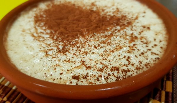 Milk and Rice Pudding from Plovdiv