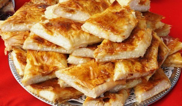 Phyllo Pastry Pie with Soda Water