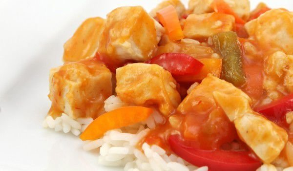 Chicken with Rice and Tomatoes - tastycraze.com