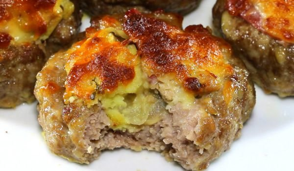 Stuffed Mince Nests