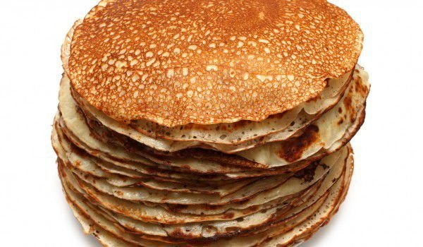 Pancakes with Soda Water