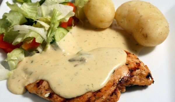 Steaks with sauces