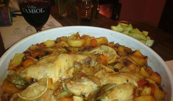 Roast Rabbit with Wine