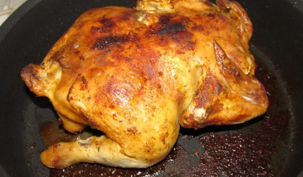 Roasted Chicken in the Oven