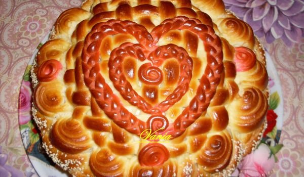 Pita Heart, 2 in 1, for Couples in Love