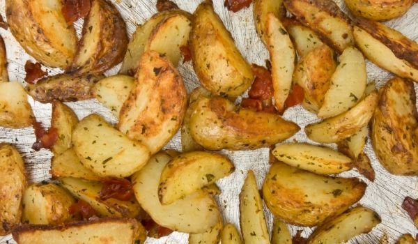 Baked Potatoes with Oriental Spices