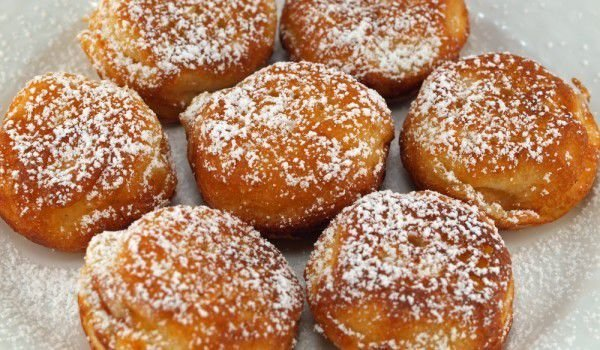 Donuts with White Cream